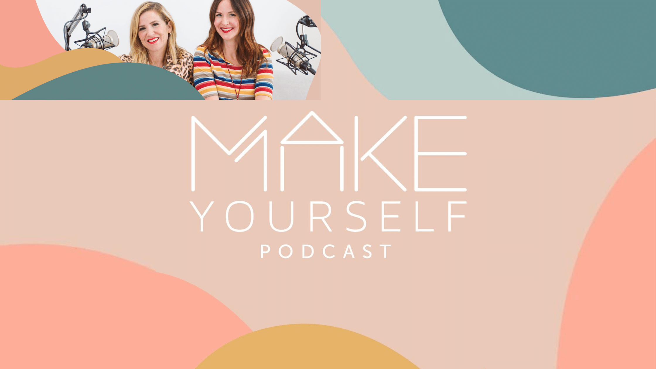 Cover image for Make Yourself Podcast: Women's Working Challenges and pictures of hosts Jill Brady and Amelia Lyon, advertising their discussion with Boulo's Delphine Carter
