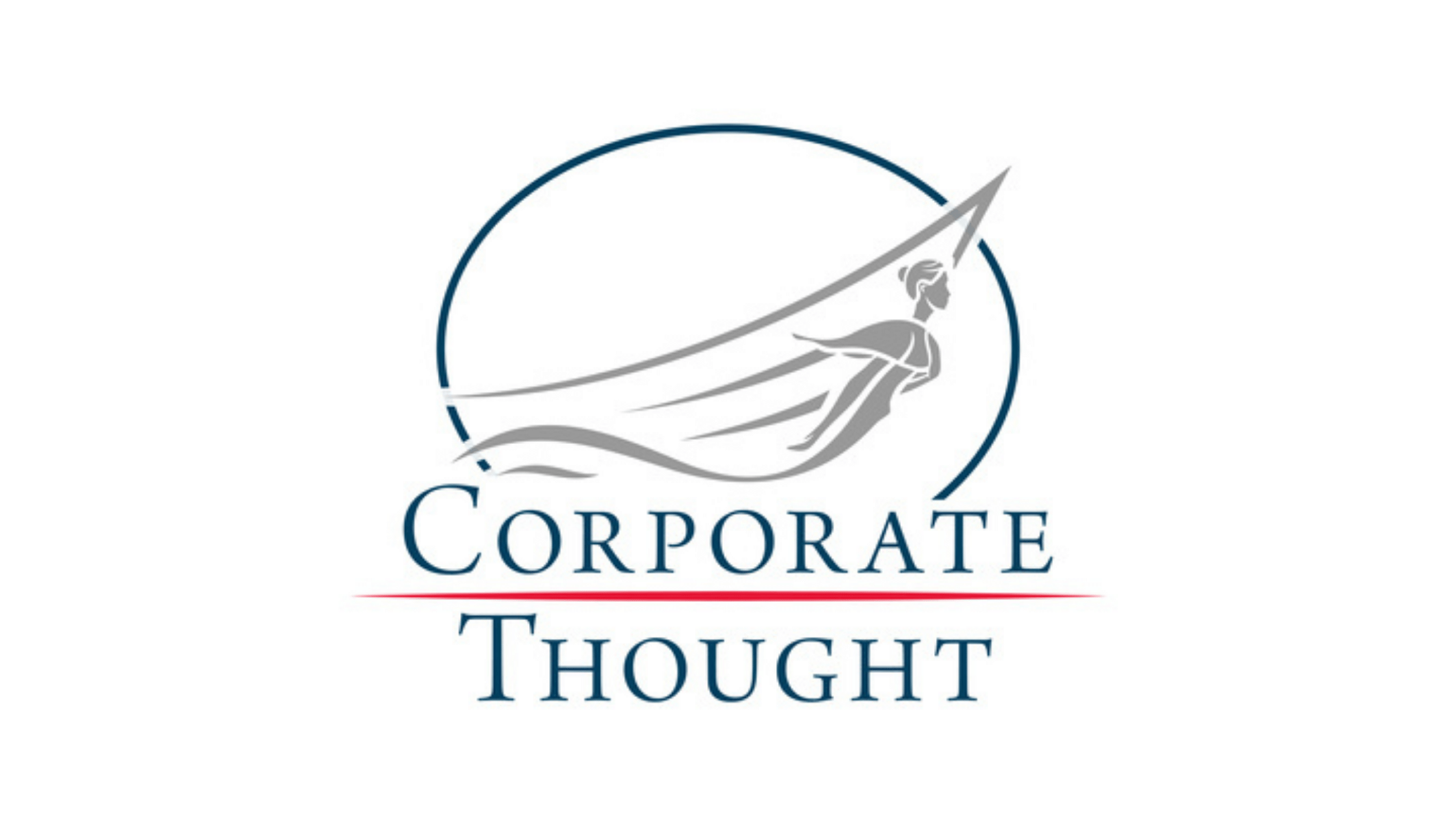 Logo for Corporate Thought in reference to a discussion on world problems between host Marc Marling and Boulo CEO Delphine Carter