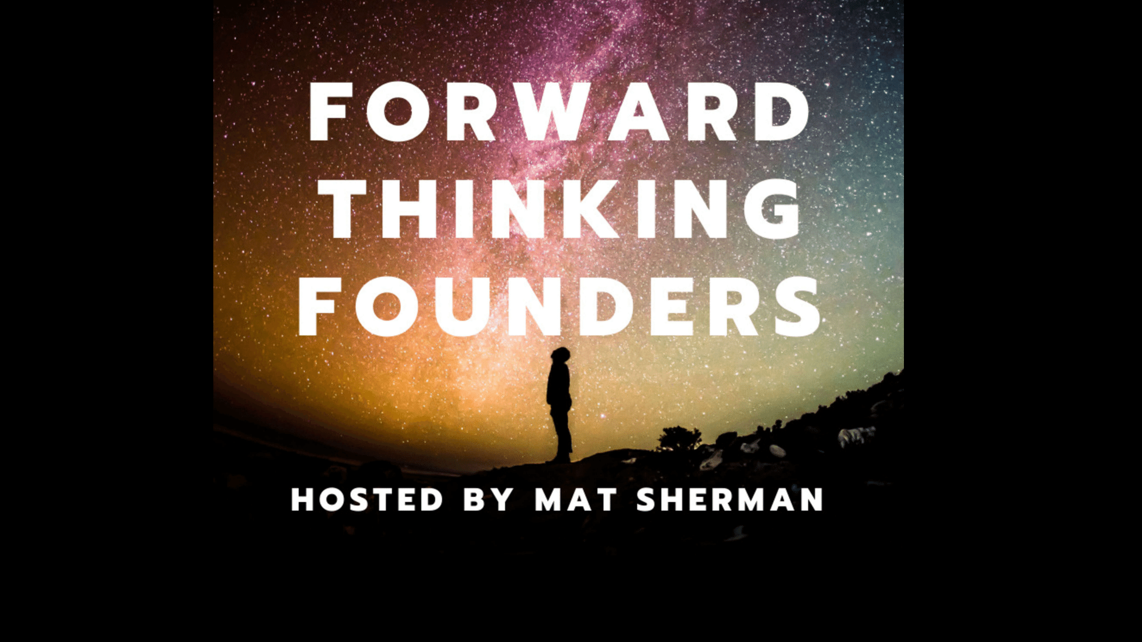 Forward Thinking Founders podcast logo for episode with Delphine Carter (Boulo) On Flexible Hours for Professional Women
