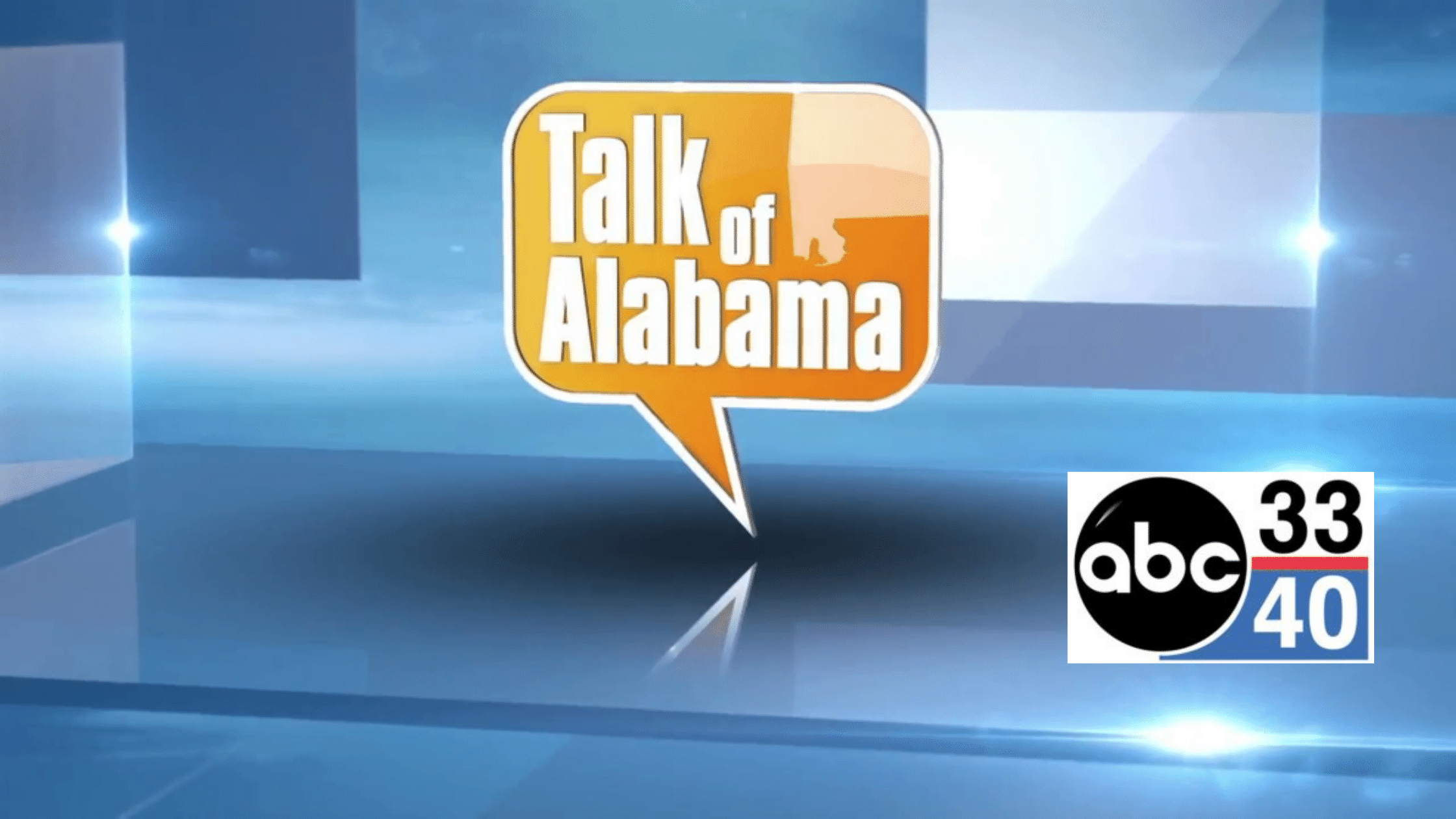 Talk of Alabama and ABC 3340 logo for feature on Boulo helping women remain in the workforce