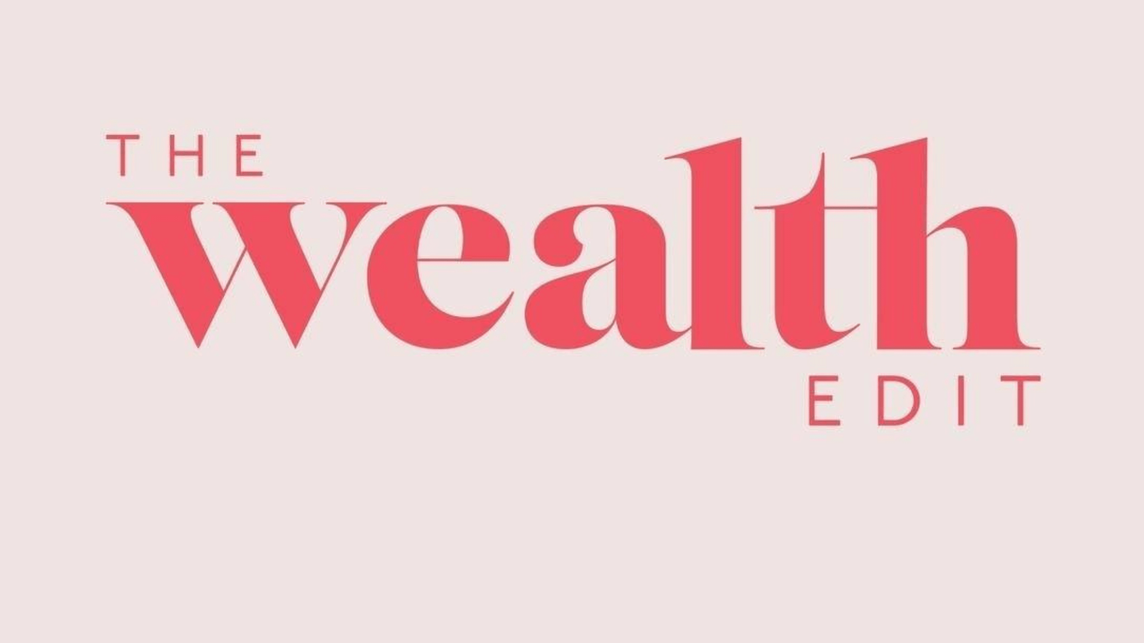The Wealth Edit Logo for discussion on how Boulo helps women get back into the workforce